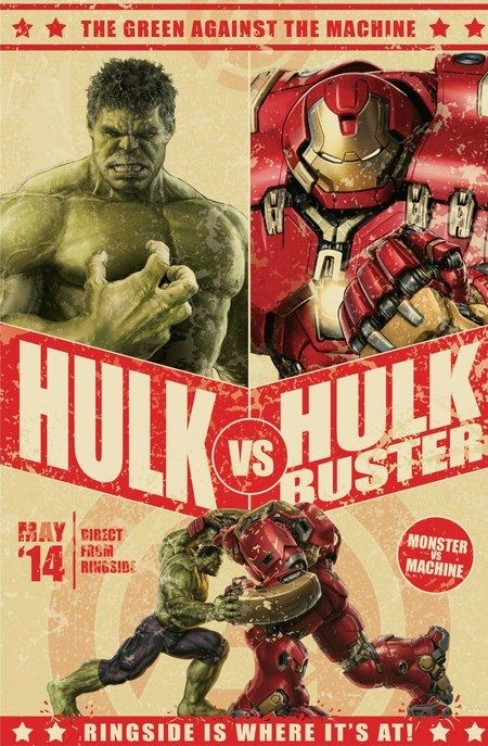 Avengers: Age of Ultron - The Hulk vs. Hulk Buster