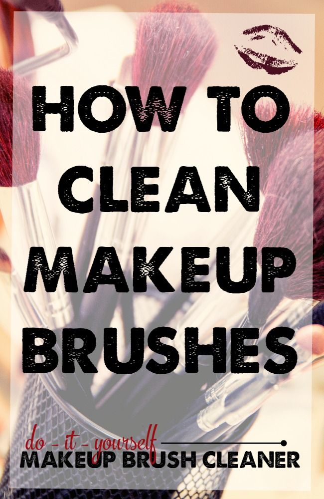 how to clean face brush