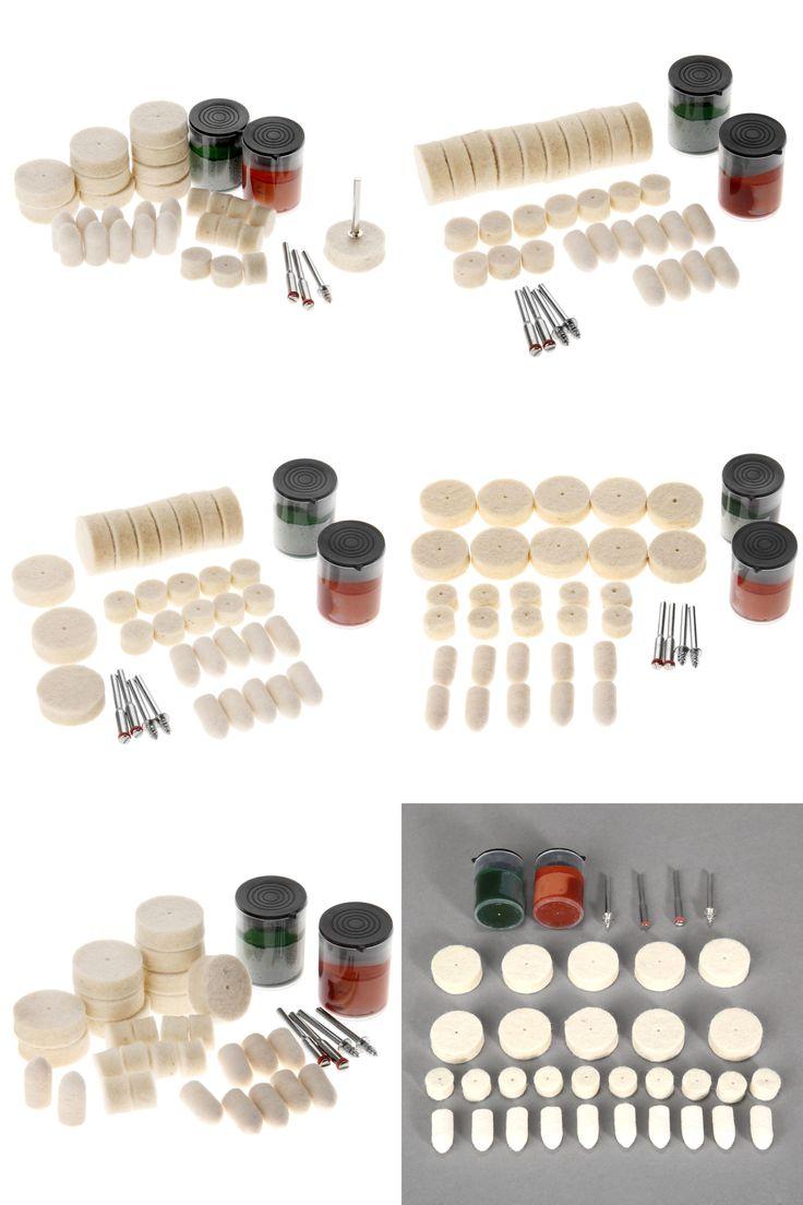 [Visit to Buy] 36Pcs Dremel Accessories Polishing Pad Soft Felt Buffing Burr Polishing Wheels Brushes Kits for Metal Rotary Tools #Advertisement
