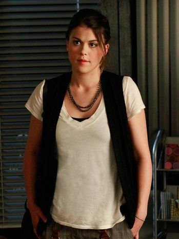 """Paige will be the voice of reason on Pretty Little Liars and is joined by an """"unlikely companion"""" to """"hatch their own plot to take down the 'A' train?"""" Lindsey Shaw (Paige) talks details with the Hollywood Reporter. [Spoilers ahead.]"""