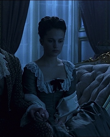 Alicia Vikander as Caroline Mathilde, A Royal Affair (2012) dir. Nikolaj Arcel