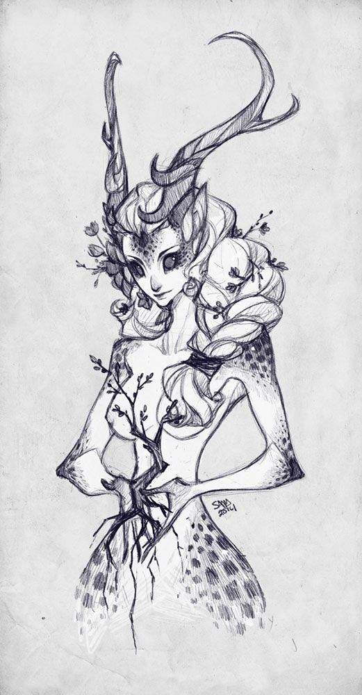 Sketch Commission: ooneithoo by sambees.deviantart.com on @deviantART