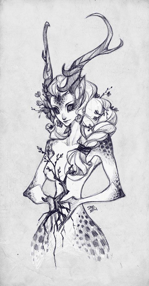 Sketch Commission: ooneithoo by sambees.deviantart.com on @deviantART