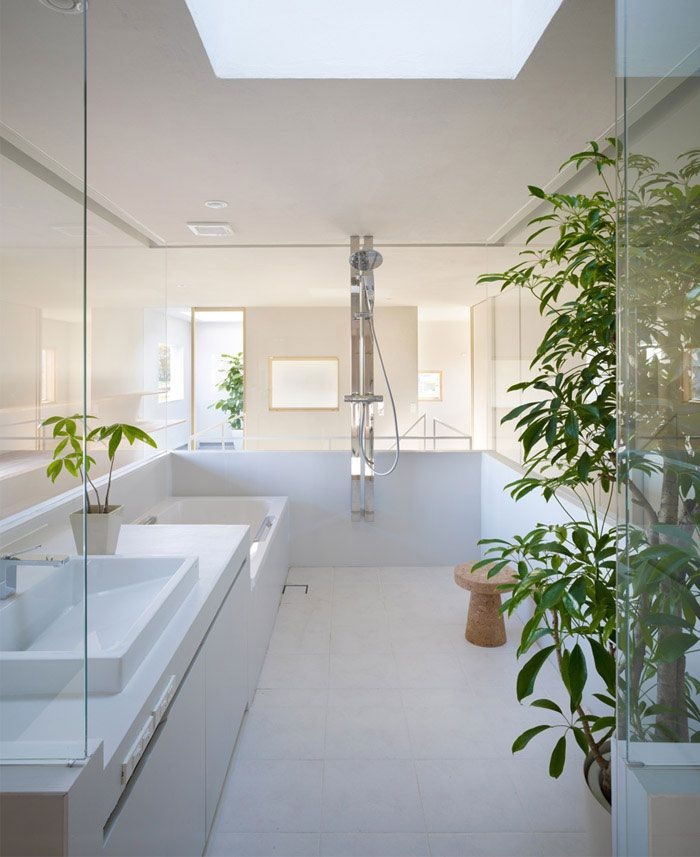 Privates Haus In Saitama Privates Saitama Simple Bathroom Designs Japanese Bathroom Residential Interior Design