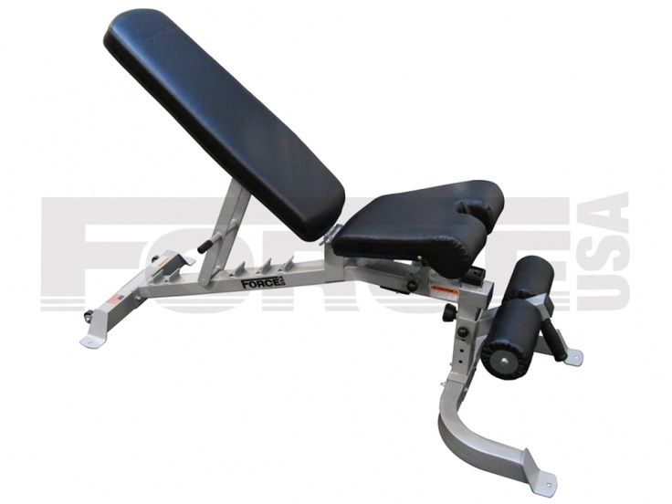 flat incline decline bench NEW MODEL JUST ARRIVED!! Get a full-body workout with the toughest Flat to Incline/Decline Bench available! The Force USA Flat to Incline/Decline Bench (F-FID) is heavy duty and fully adjustable to give you a solid workout! For more info visit: http://www.gymandfitness.com.au/force-usa-adjustable-bench.html#.UXc7rqJkOrU