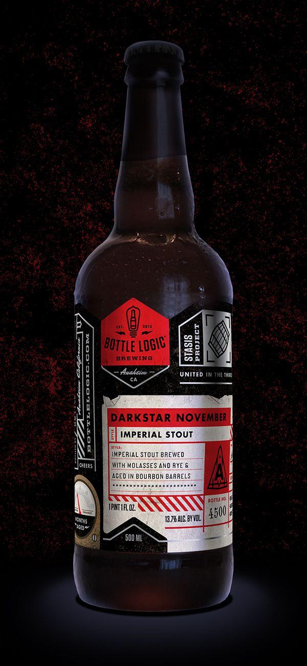 Bottle Logic Darkstar November by Emrich Office