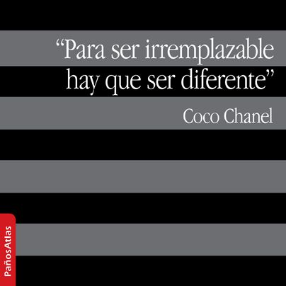 Chanel Quote #PañosAtlas