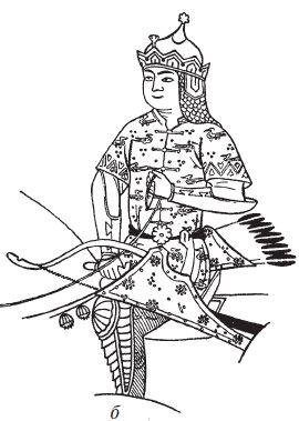 Golden Horde warrior khan