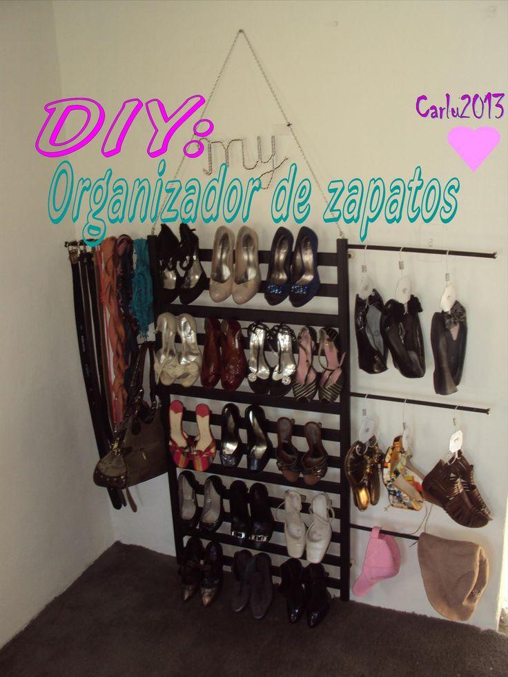 94 best proyectos diy images on pinterest craft ideas - Organizador de zapatos ...