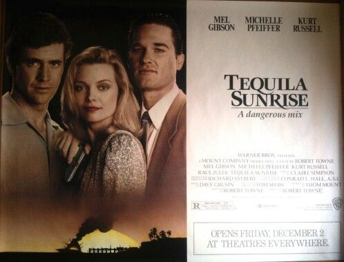 tequila sunrise 1988 movie posters pinterest