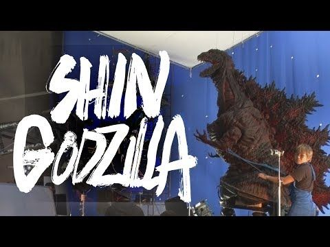 Shin Godzilla : Unused Godzilla Suit & Behind The Scenes - YouTube