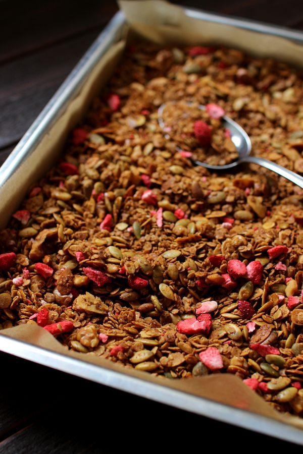Wicked sweet kitchen: Itsetehty granola