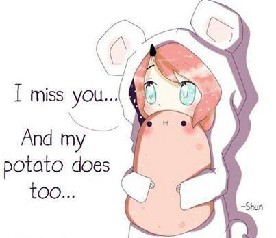 Rosey, powers: everyone around her is always happy, she loves her potato and accepts everyone, she gives the best hugs.
