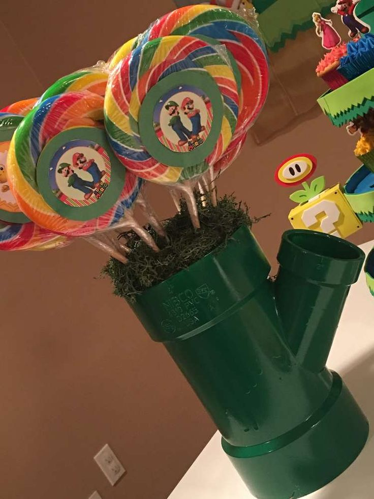 Super Mario Bros Birthday Party Ideas | Photo 8 of 21
