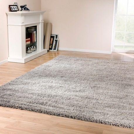 Tapigo Shaggy Trend Grijs, hoogpolig tapijt / vloerkleed