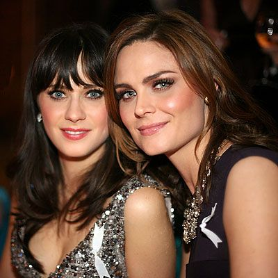 Zooey and Emily Deschanel  - Zooey is a beautiful singer and movie actress, Emily's beauty & acting is forever, but want to see her do film .. So much talent in both ,