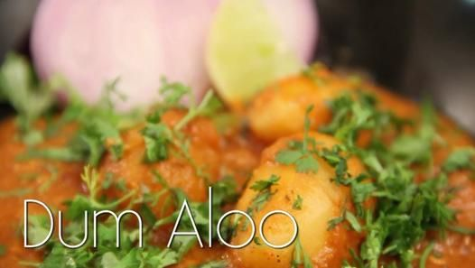 ▶ Dum Aloo - Potato Gravy Vegetable Recipe by Ruchi Bharani - Vegetarian [HD] - Video Dailymotion