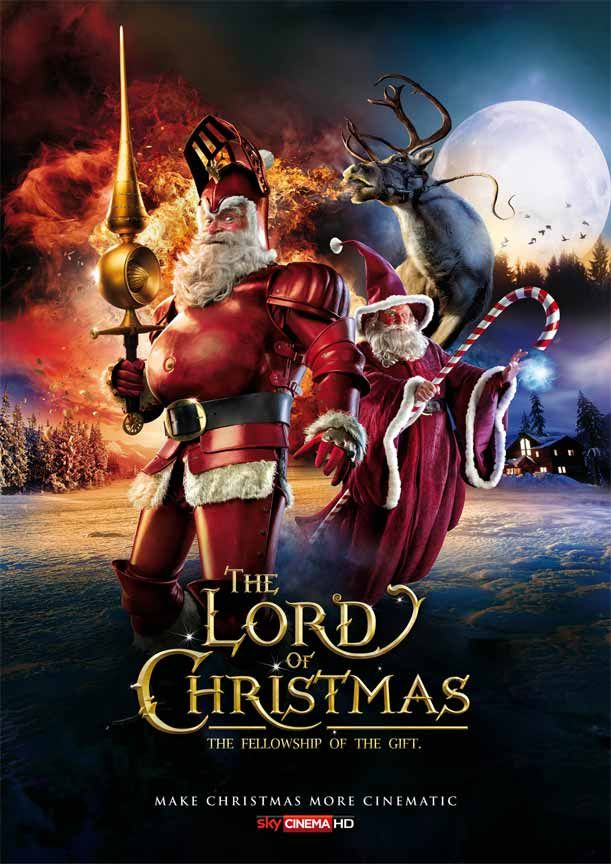Movie Posters Turned into Epic Christmas Advertisements | repinned by www.BlickeDeeler.de