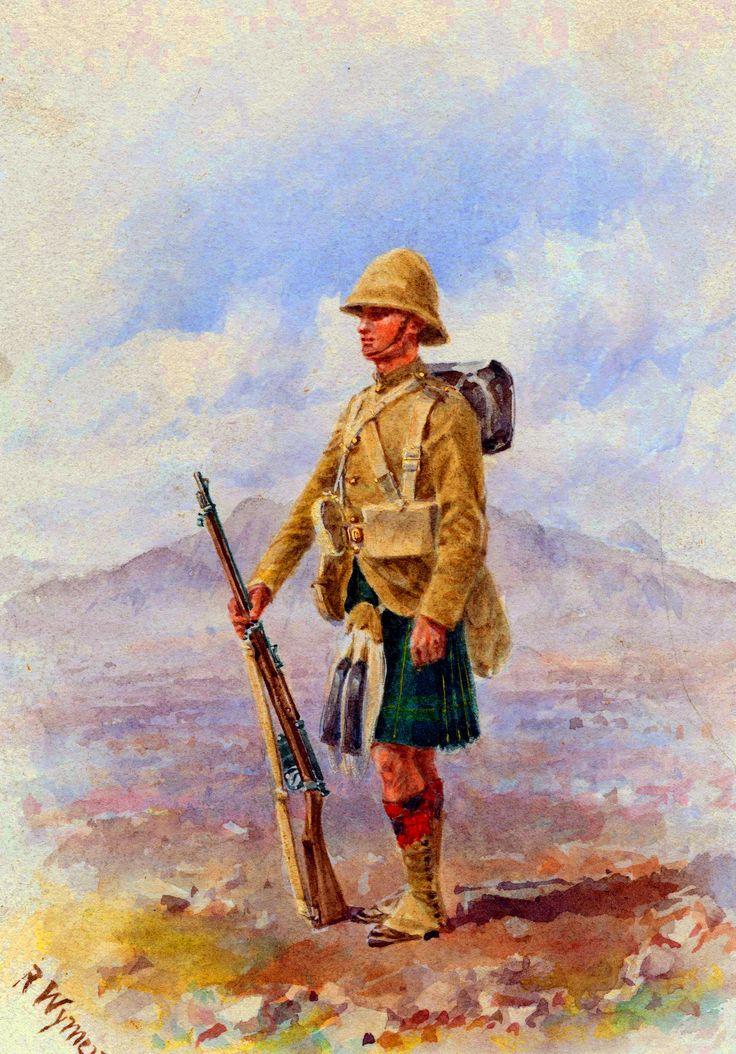 British highlander, Boer War