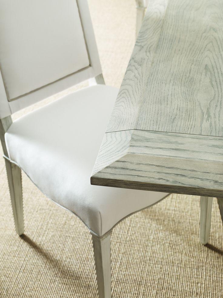 Crestwood Dining Table Finish 5822 Dappled Grey