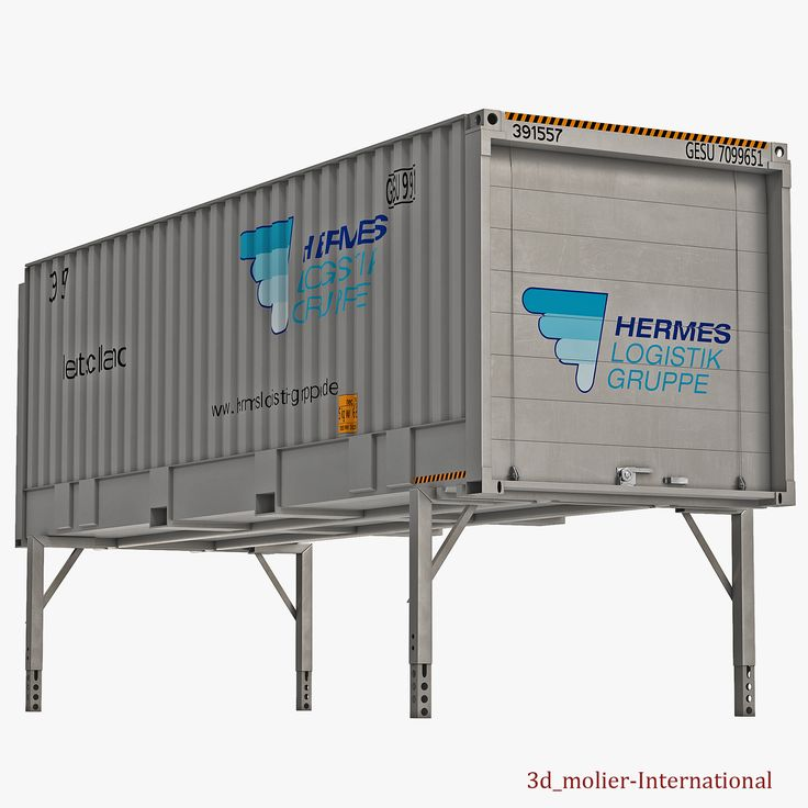 Swap Body Container ISO 3d model http://www.turbosquid.com/3d-models/swap-body-container-iso-3d-model/930476?referral=3d_molier-International