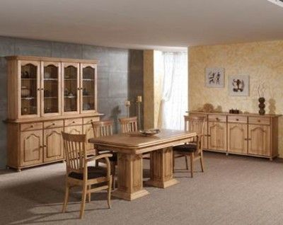 comedores rusticos de madera para sala