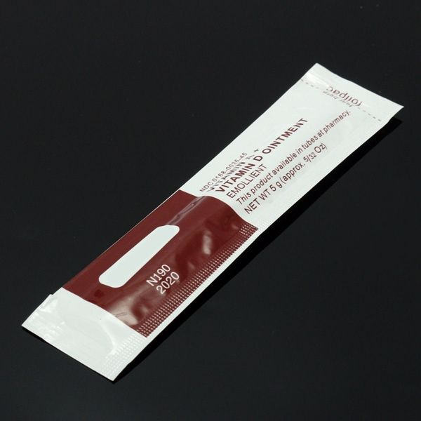 100pcs Vitamin Tattoo After Care Vitamins A D Cream Anti Scar Ointment