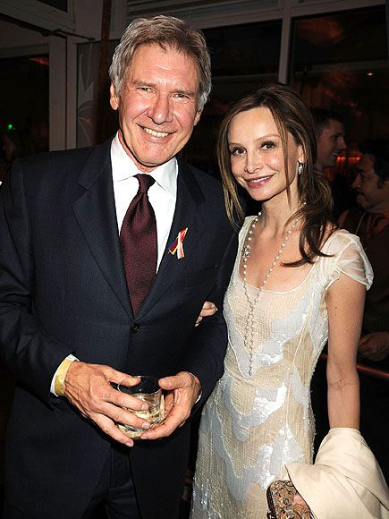 Harrison Ford and Calista Flockhart.  Married 2010