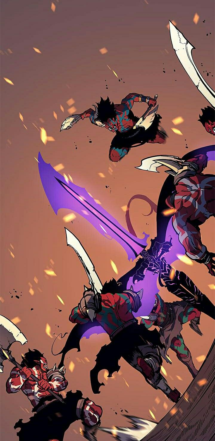 Solo Leveling 73 Manhwa, Anime, Ilustrações