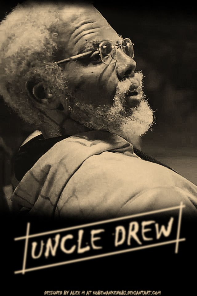 Forward uncle drew 2 nba champion cleveland cavaliers uncle drew