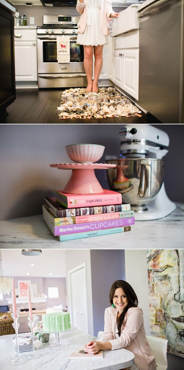 Love the floor rug: Kitchens Tours, At Home, Hey Gorgeous, Apartment Decor, Colors Cookbook, Apartment Living, Home Kitchens, Gorgeous Events And, Floors Rugs