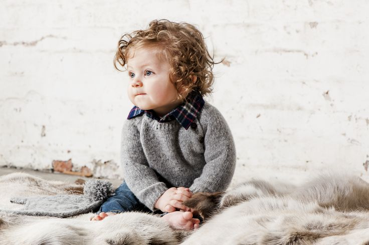 OUCH Baby Clothing #boysfashion #babyfashion #knitwear #winter #checks #photoshoot