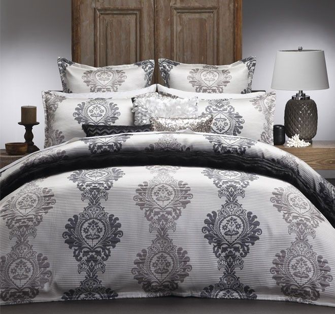 Bayview Quilt Cover Set Range Pearl