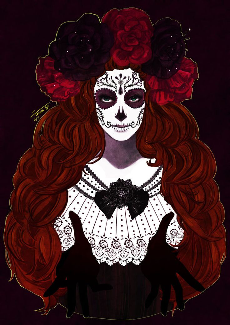 Dia de los Muertos by muse33 on DeviantArt