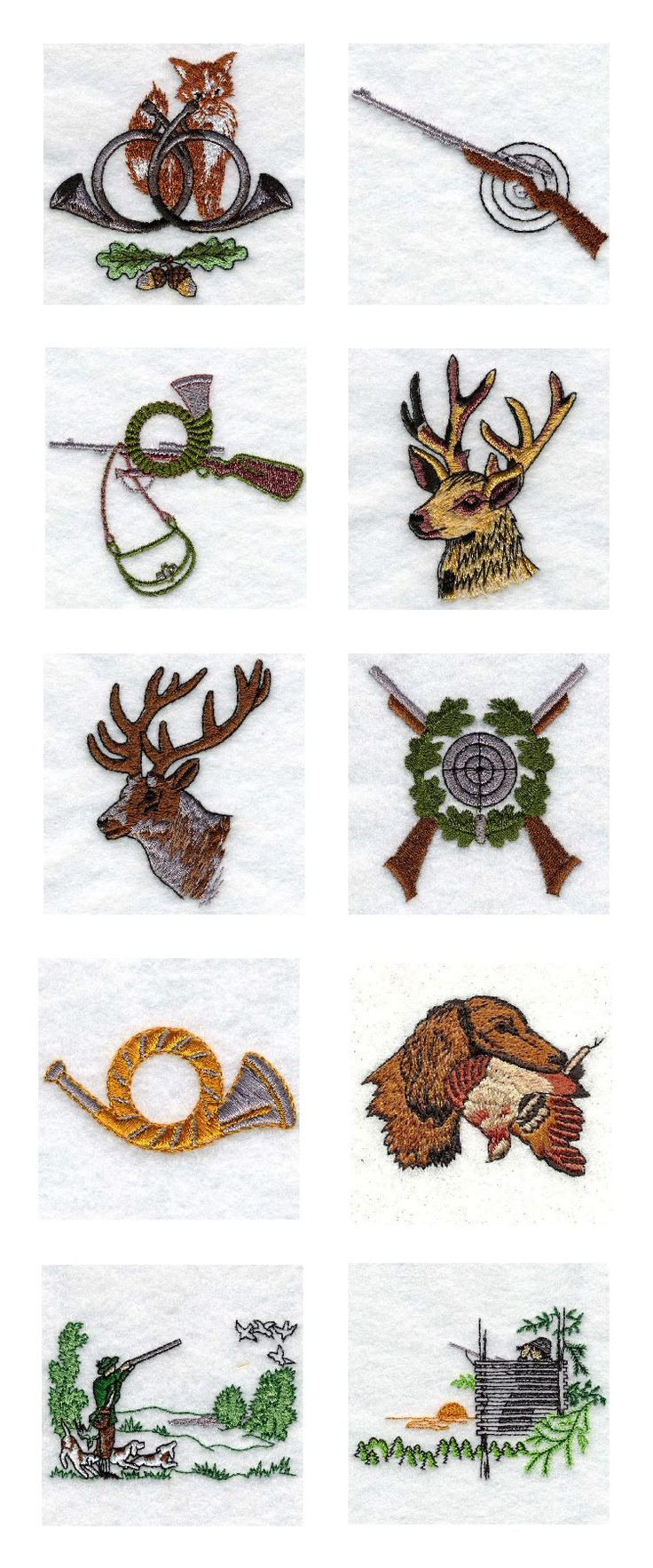 FREE DEER EMBROIDERY DESIGNS                                                                                                                                                      More