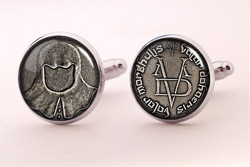 Game of Thrones Cufflinks,Valar Morghulis Groomsman Wedding Cufflinks