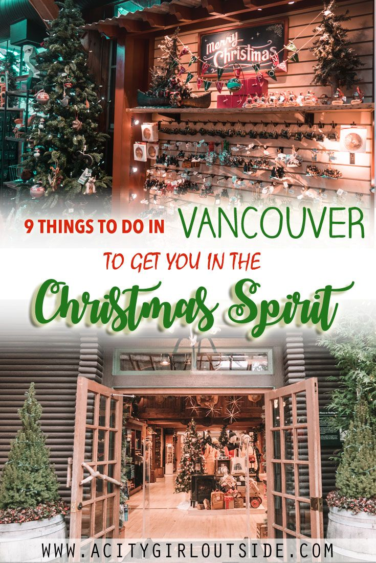 Christmas Activities Vancouver 2020 9 Must Do Christmas Activities In Vancouver in 2020 | Christmas