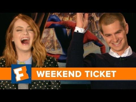 Which movie's right for you? Fandango Chief Correspondent Dave Karger breaks them down with a little help from The Amazing Spider-Man 2's Andrew Garfield and Emma Stone. #SpiderMan #TheAmazingSpiderMan2 #EmmaStone #AndrewGarfield