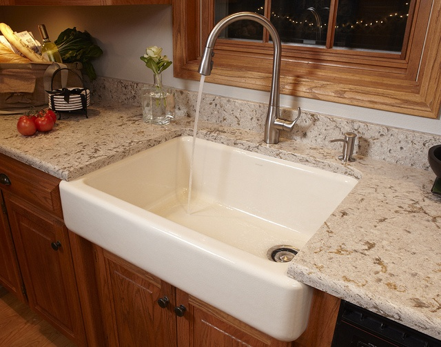 12 best images about farm sinks on pinterest for Corian farm sink price