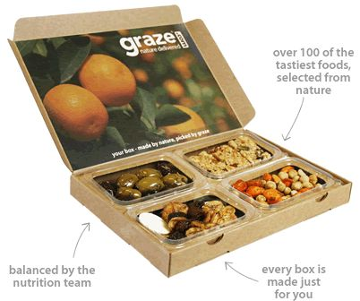 Graze Boxes! Delish!