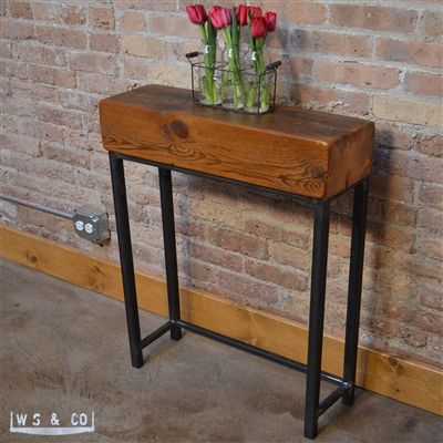 Adler Beam Console Table A Great Chunky Reclaimed Wood