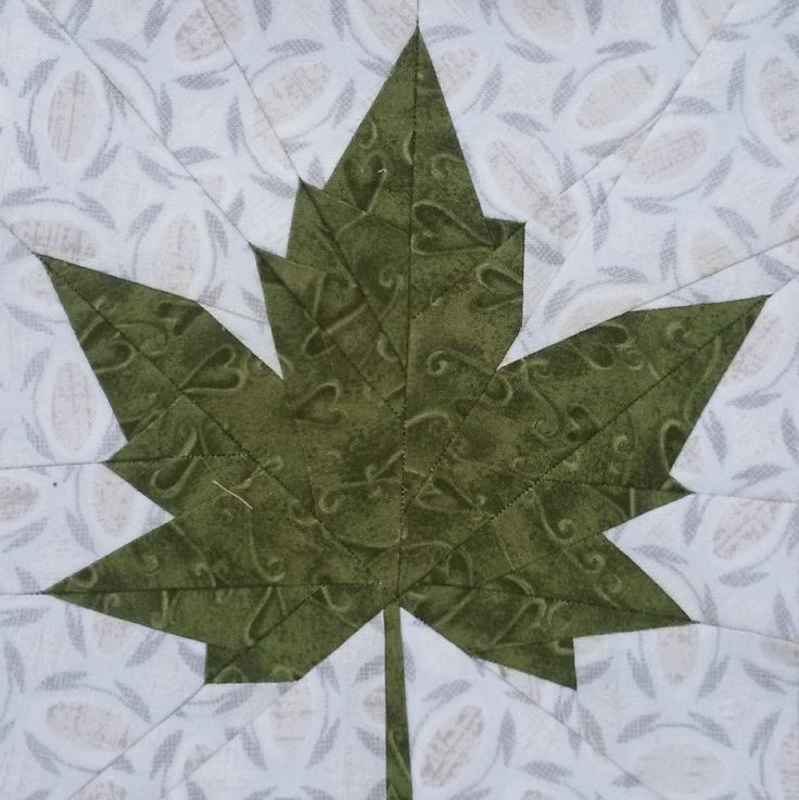 176 Best Leaves Or Bear Claw Quilts Images On Pinterest