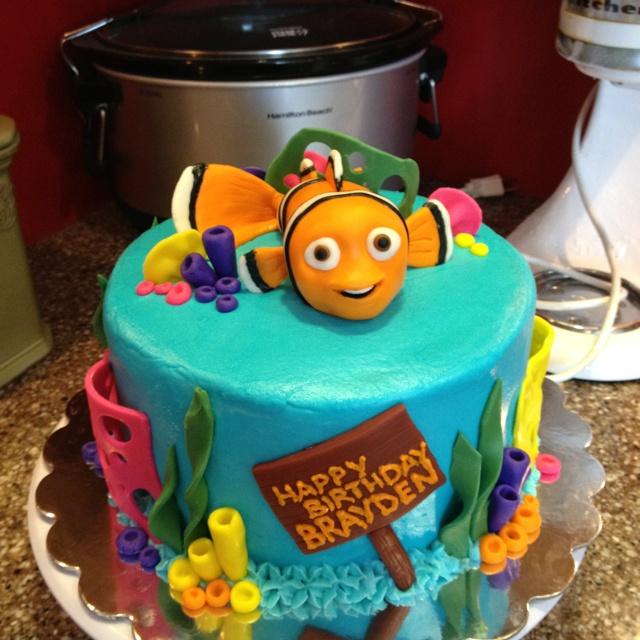 Nemo Cake: 37 Best Images About Octonauts Cake & Decorations On Pinterest