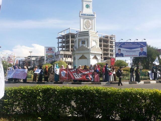 Aksi Anak Muda Aceh Tolak Valentin dan LGBT