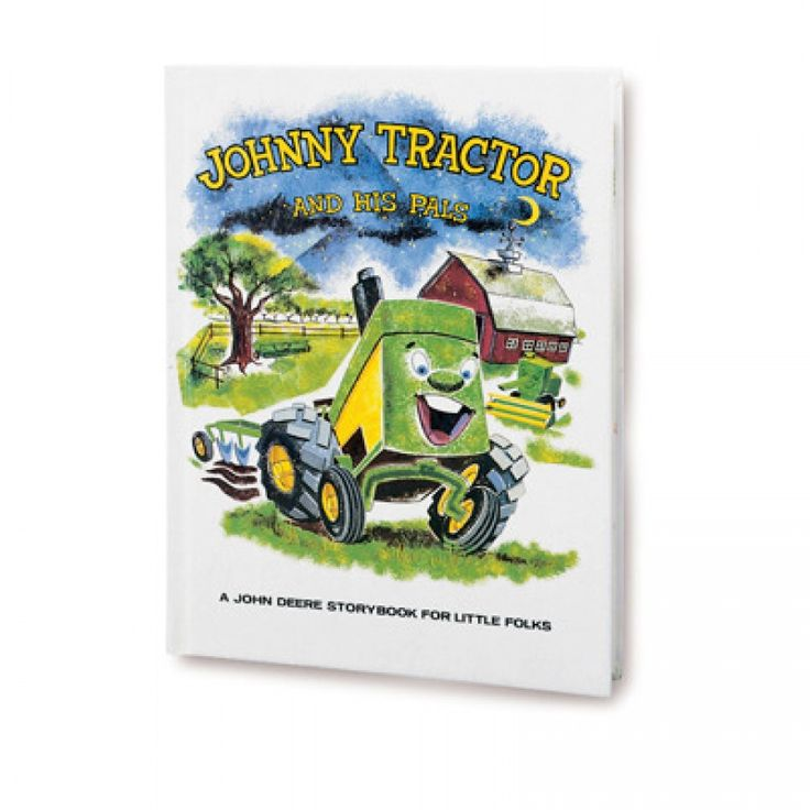 Johnny tractor and his pals childrens book tbe5189