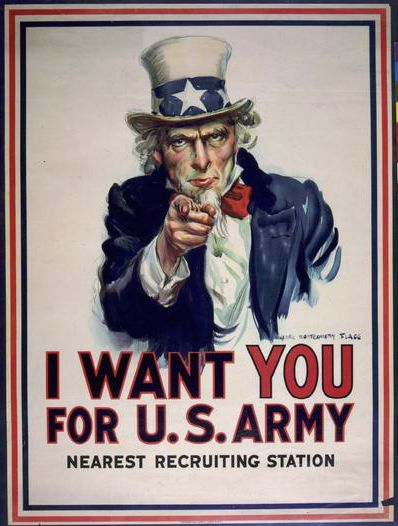 war, military, advertising, propaganda, vintage, vintage posters, graphic design, retro prints, free download, classic posters, recruitment, I Want You for US Army, Nearest Recruiting Station - Vintage War Military Poster