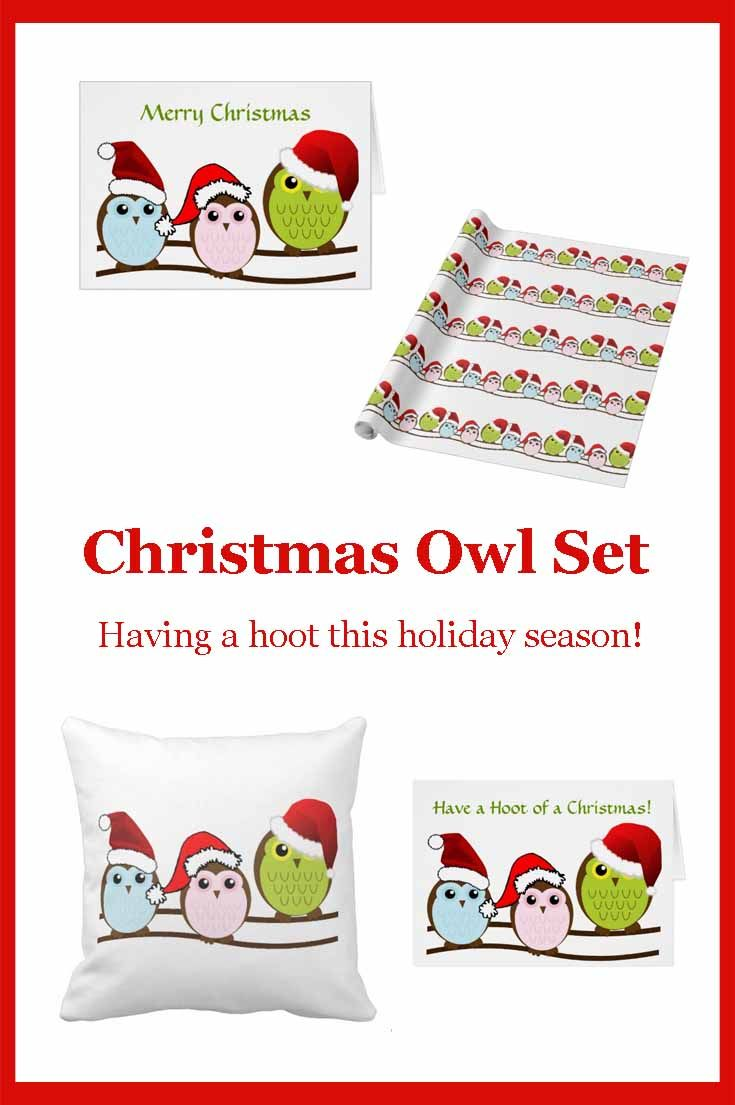 Christmas Owl Set