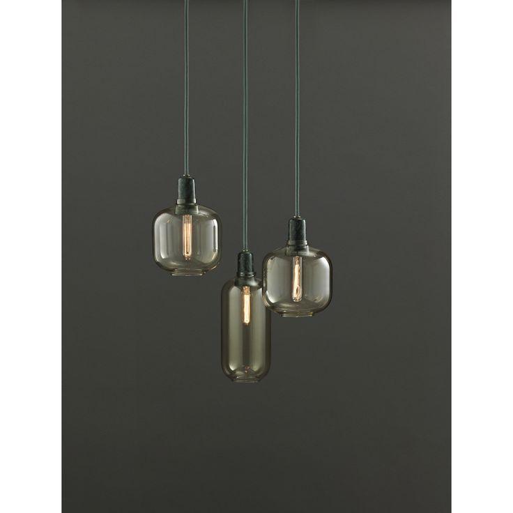 Amp pendel fra Normann Copenhagen, designet af Simon Legard. Denne lampe er inspireret af gamle r...