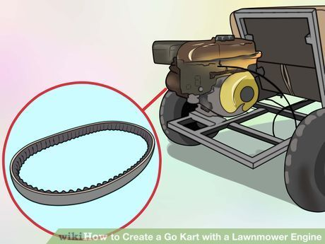 Image titled Create a Go Kart with a Lawnmower Engine Step 30