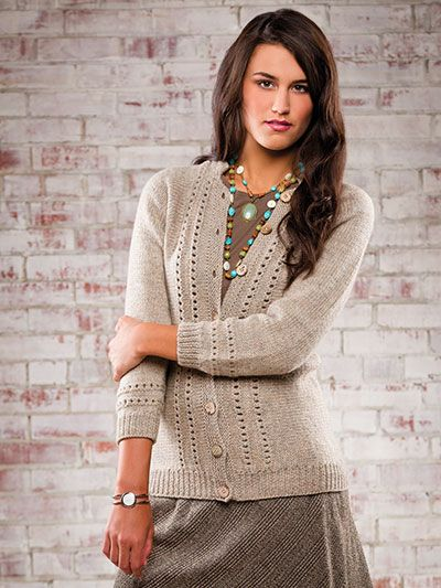 Knitting - Weekender Cardigan : pattern $5.29